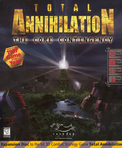 Total Annihilation- The Core Contingency Box Cover