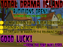 TDI - Auditions Open!