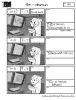 Total Drama Action theme song storyboard (37)