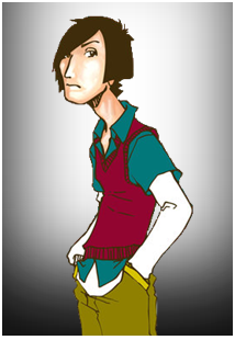 Total Drama Big Brother- Noah's Publicity Picture