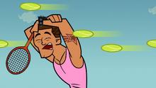 Brody tennis fail