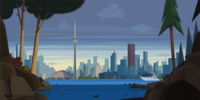 List of Total Drama Presents: The Ridonculous Race locations