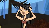 Heather annoyed by flies
