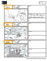 Total Drama Action theme song storyboard (9)