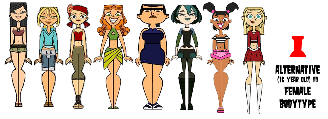 from Clayton total drama island naked females