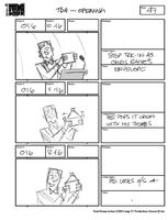 Total Drama Action theme song storyboard (49)