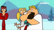 Noah owen hug bridgette cuddle