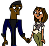 Malik and Courtney end up holding hands