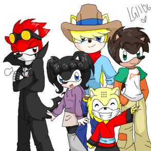 Xiaolin showdown hedgies by linkgirl11