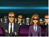 WOOHP Agents sitting in like so not totally spies