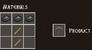 Total Miner iron pickaxe