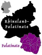 Palatinate location