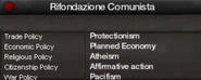 Communist Refoundation Party views
