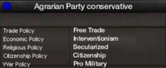 Agrarian Party of Tajikistan conservative views