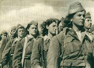 Greek women civil war