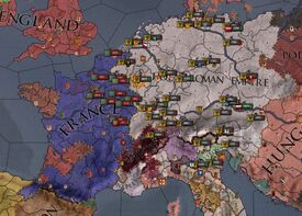 Holy Roman-French War 1312