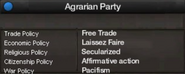 Agrarian Party of Tajikistan views