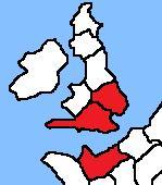 English Starting Regions