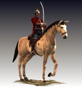 Colonial light cavalry