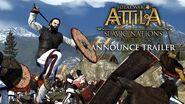 Total War ATTILA – Slavic Nations Pack Announce Trailer