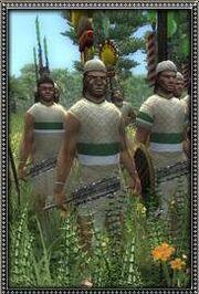 Mayan Nacom Warriors