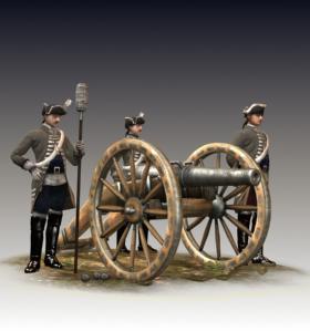 24-lber Guard Artillery