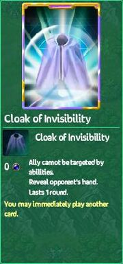 Cloak of Invisibility