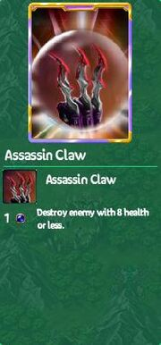 Assasin claw