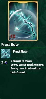 Frost bow