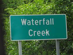 Welcome to Waterfall Creek