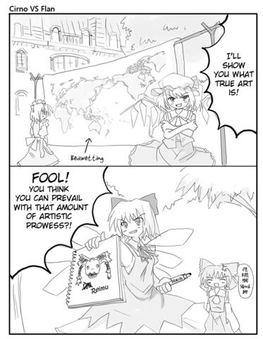 File:Cirno vs flan.jpg