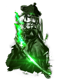Enemy-Uchigatana-Green