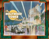 Hollywood Tower Hotel DCA photocard