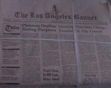 Los Angeles Banner