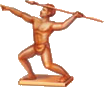 Javelin Thrower Icon