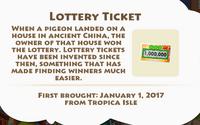 Lottery Ticket Artifact