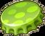 Green Bottle Cap 2