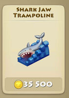 Shark-Jaw-Trampoline