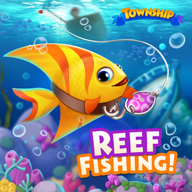 Coral Reef Fishing Event Icon