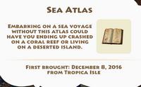Sea Atlas Artifact