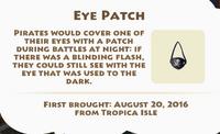 Eye Patch Artifact
