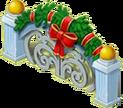 Christmas Fence