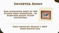 Inverted Jenny Artifact