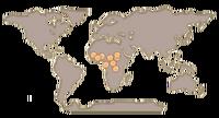 Chimpanzee map