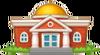 Community Buildings Icon