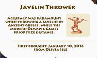 Javelin-Thrower