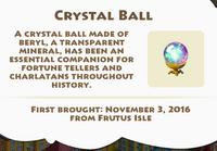 Crystal Ball Artifact