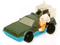 Back to the Future DeLorean Happy Meal toy