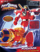 Power Rangers Ninja Storm Ninjakon toy