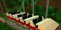Steel coaster
